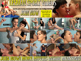 LESBIAN SPORT VIDEOS - lesbian seduction, lesbian teachers, women undressing women!