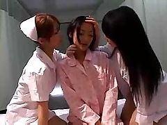 Asian nurses decide to give themselves... lesbian porn tube