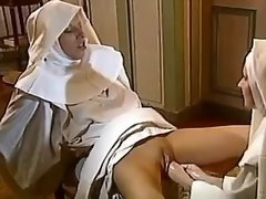 Lesbo nun gets deep double fisting from... fisting lesbian porn