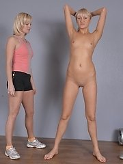 Tall girl exercised in lesbian sports lesbian porn pics
