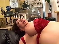 Hot redhead girl drilling lustful lesbo... mature lesbian porn