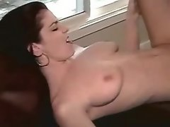 Horny lesbian with strapon fucking chick... redhead lesbian porn